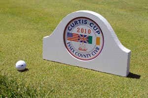 laminated signfoam routed golf tee marker